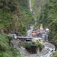 Yamunotri Temple - Image Credit @ Wikimedia Commons