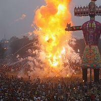 Dussehra Celebrations - Image Credit @ Wikipedia