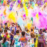 Holi Celebrations - Image Credit @ AllPics Copyleft