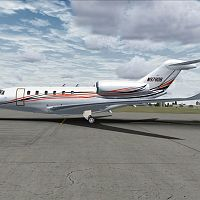 3rd Fastest Passenger Plane in the World Cessna Citation X