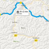 Srinagar to Leh